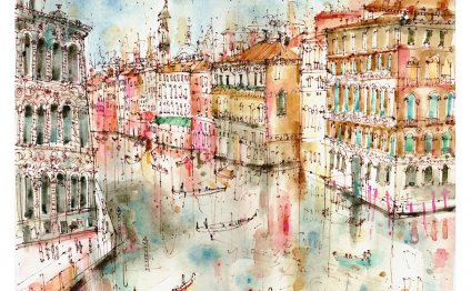 Paintings of Venice, travel