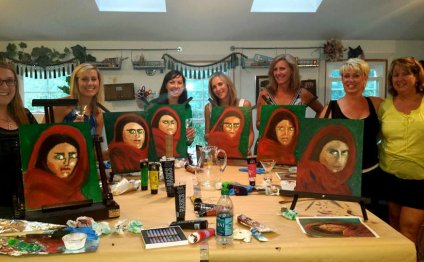 Portrait painting classes