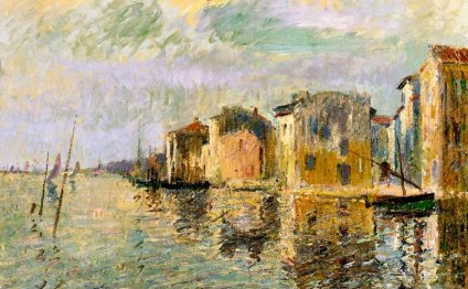 Martigues Painting - Martigues
