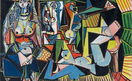 Picasso Painting Breaks World