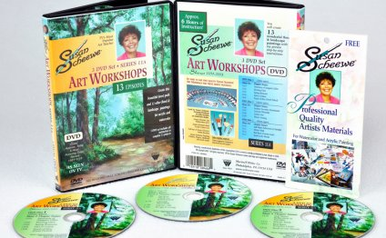 Scheewe Art Workshop 3 DVD Set