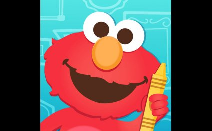 Sesame Street Art Maker on the