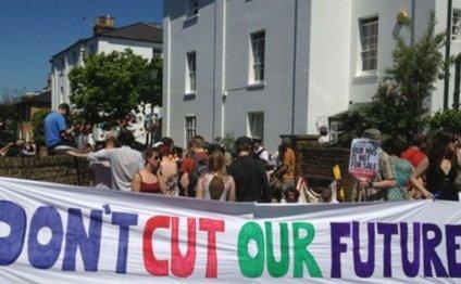 UK Uncut protest targets