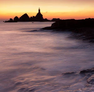 Corbiere lighthouse makes an excellent subject on this magical painting holiday in Jersey, Channel Islands