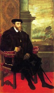 Holy Roman Emperor Charles V by Titian.