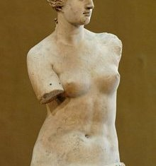 Most Famous Works Of Art: Aphrodite of Milos
