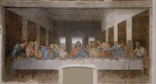Most Famous Works Of Art: The Last Supper by Leonardo da Vinci