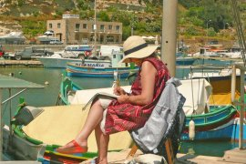 Painting Holiday in Gozo, Malta