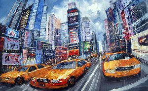 New York oil Painting