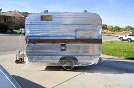 The Nugget- Vintage Trailer Renovation Makeover vintagerevivals.com