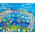 The story behind 'Fowey Fun' Artist John Dyer's feature Painting and Print of Fowey