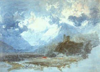Turner: Dolbadarn Castle - Great Watercolor Artists on Craftsy