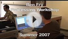 Ben Fry workshop at Anderson Ranch, Summer 2007