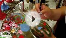 DIY: Hand Painted Wine Glasses - CHRISTMAS EDITION