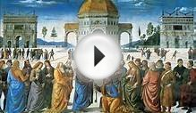Italian Renaissance Art Analysis - The Delivery of the Keys