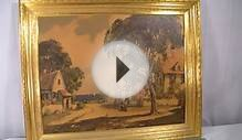 ITALIAN VILLA PAINTING by TURNER WALL ACCESSORY