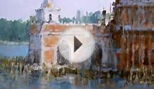 Italy Views - oil paintings exhibition by Alex Perez