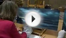 Oil Painting Workshop with Alan Kingwell with music by Ben