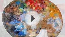 Painting and drawing midsummer workshop from the 21st till