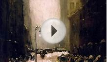 Snow in New York Robert Henri | Oil Painting Reproduction